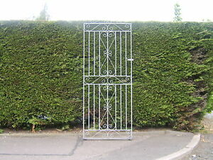 galvanized ! Tall flat top garden side gate  6 ft tall 3 ft  wide opening