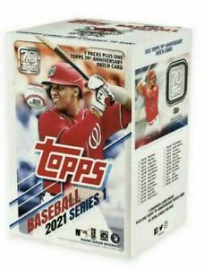 2021 Topps Baseball Series 1 Blaster Box 7 Packs New Sealed MLB