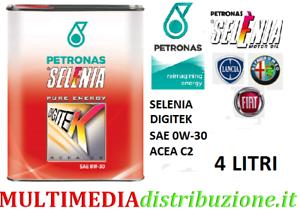 4-LITRI-OLIO-MOTORE-ORIGINALE-SELENIA-DIGITEK-P-E-0W30-C2-EURO6-FIAT9-55535-GS1