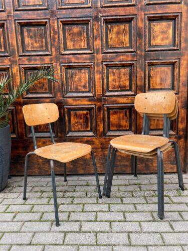 1/60 Vintage Design Sapelstuhl Loft Fabrik Industrie Design