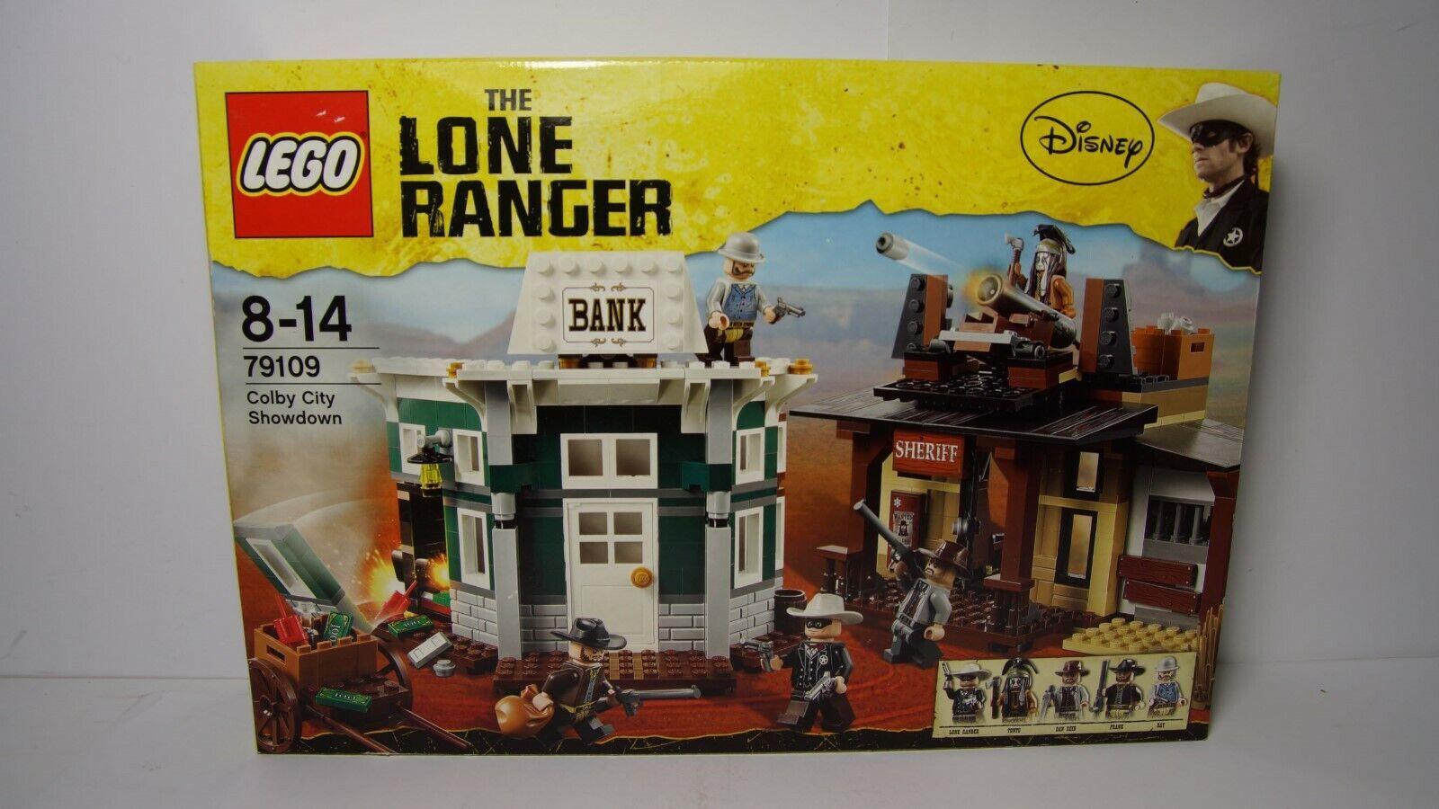 Lego Lego Lego 79110 79109 79108 79107 79106 The Lone Ranger - NEU - OVP 5a2618
