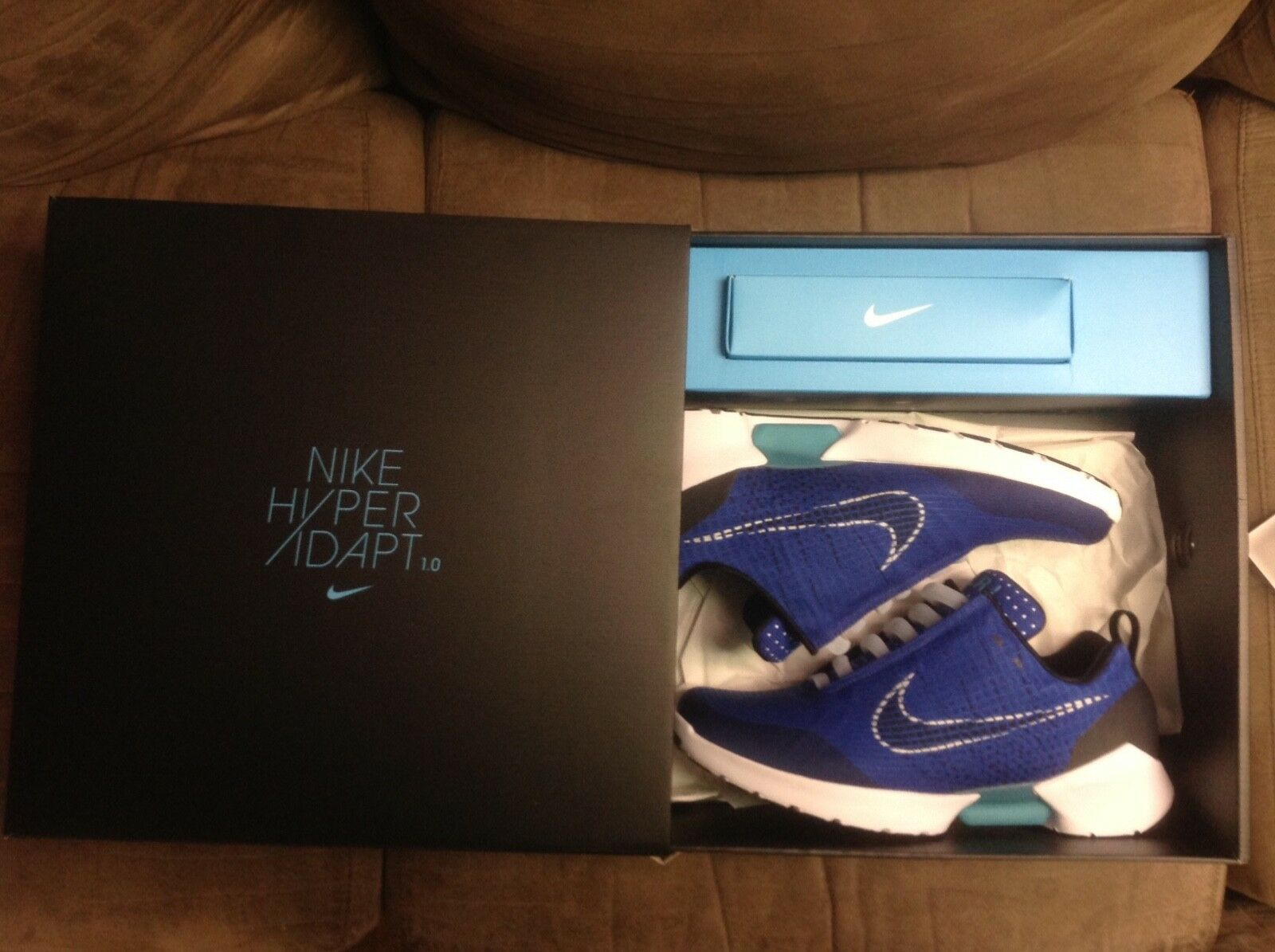 the latest 84ff2 88234 ... 9e5200 Nike royal hyperadapt royal Nike tinker blau, new in box, ...