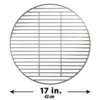 Stainless High Heat Charcoal Fire Grate Upgrade For X-large Big Green Egg - 17,