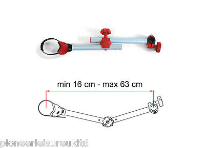 Fiamma Bike Block Pro 1 Carry Bike Cycle Carrier Clamp Arm Camper Van 04133-01