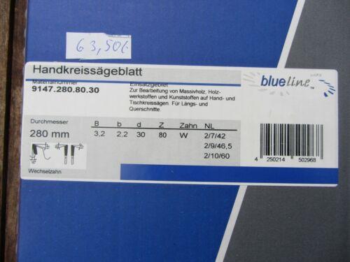 HM//Widia Kreissägeblatt 280 x 30 Z 80 Blue Line by AKE  für Mafell und Kity