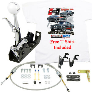 Details about Hurst 3160020 Quarter Stick 2 Shifter PG Powerglide, Turbo  350 400 FREE T SHIRT