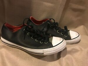 c7e972a05c16 Converse Chuck Taylor All Star Ox Fatigue Green Black Signal Red US ...