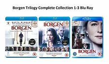 Borgen Trilogy Complete Series 1-3 Collection Blu Ray Season 1 2 3 UK Release