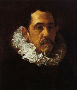 Huge-nice-Oil-painting-Diego-Velazquez-Portrait-of-a-Man-with-a-Goatee-canvas