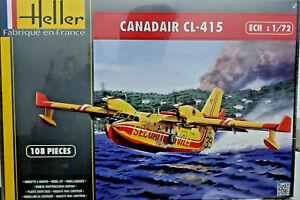 Canadair-CL-415-Securite-Civile-Antincendio-Heller-Kit-1-72-80370-Nuovo