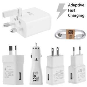 Rapida-Caricabatteria-Per-Auto-Cavo-USB-Samsung-Galaxy-S4-S6-S7-Edge-Note-5-4