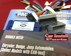 PAC Interface Premium Radio Wire Harness Stereo w CANBUS C2R-CHY4 | on jeep engine harness, jeep tach, jeep wiring connectors, jeep key switch, jeep relay wiring, jeep gas sending unit, jeep knock sensor, jeep seat belt harness, jeep wiring diagram, jeep exhaust leak, jeep wire connectors, jeep electrical harness, jeep condensor, jeep carrier bearing, jeep vacuum advance, jeep sport emblem, jeep intake gasket, jeep exhaust gasket, jeep bracket, jeep visor clip,