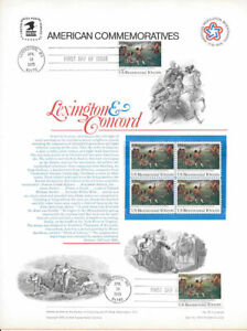 10-73-9-Bicentennial-USPS-Commemorative-Stamp-Panel-Group-w-FDC-Group