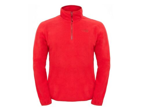 PILE UOMO THE NORTH FACE INVERNO 2UAR682  100 GLACIER 1/4 RED