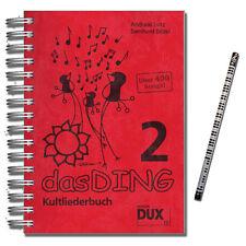 Das Ding 2 Kultliederbuch - Verlag Edition Dux - DUX77 - 9783934958777
