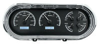 Dakota Digital 63 64 65 Chevy Nova Analog Dash Gauges Black White Vhx-63c-nov