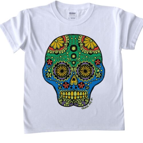 COLOUR IN T SHIRTS CHILDRENS SIZES COLOURING FUN FOR ALL AGES FABRIC PEN COLOURS