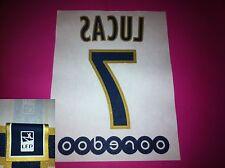 Flocage PSG Paris 2014 2015 extérieur LUCAS Ooredoo Player issue