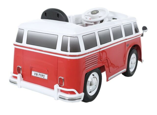 W487ACROB for sale online Rollplay 6V VW Battery Powered Bus Ride On Toy