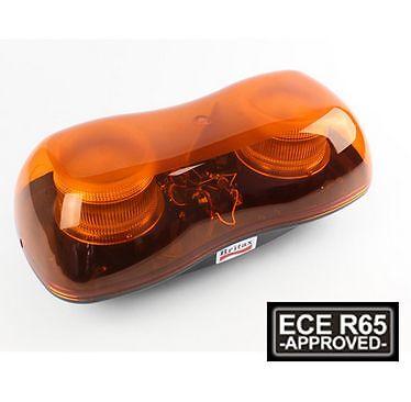 Britax A520 LED Mini Lightbar ECE R65 Bolt-on Flashing Warning Beacons on