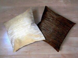 dekokissen kissen braun beige uni. Black Bedroom Furniture Sets. Home Design Ideas