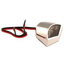 77204425A LUCE TARGA a LED FOX CROMATA OMOLOGATA per MOTO HONDA - HUSABERG