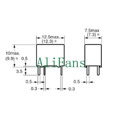 5V Relay G5V-1-5VDC Signal Relay 6 PINs for Omron Relay