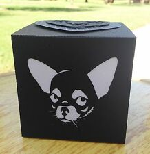 Chihuahua Gift LED Candle Luminary Glow Box