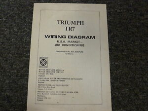 Triumph Tr7 Wiring Diagram 2012 Chevy Express Fuse Box For Wiring Diagram Schematics