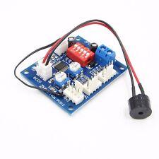 12V PC CPU 4 Wire Fan Temperature Control PWM Speed Control Module W/ Alarm