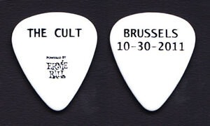 The-Cult-Brussels-White-Guitar-Pick-2011-Tour
