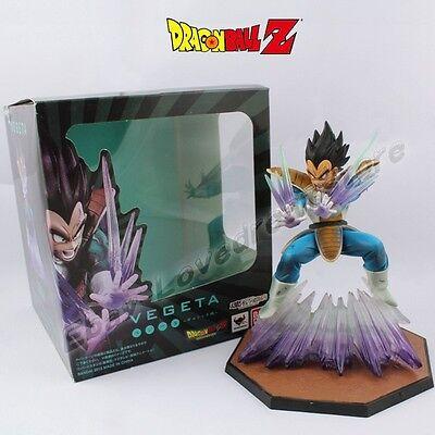 "Cool ! Dragonball Z Super Saiyan Vegeta 15cm/6"" PVC Figure New No Box & In Box"