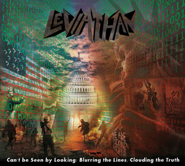 Léviathan-Can 't be seen by Looking... (NEW * US PROG METAL * Fates Warning * P. Waltz)