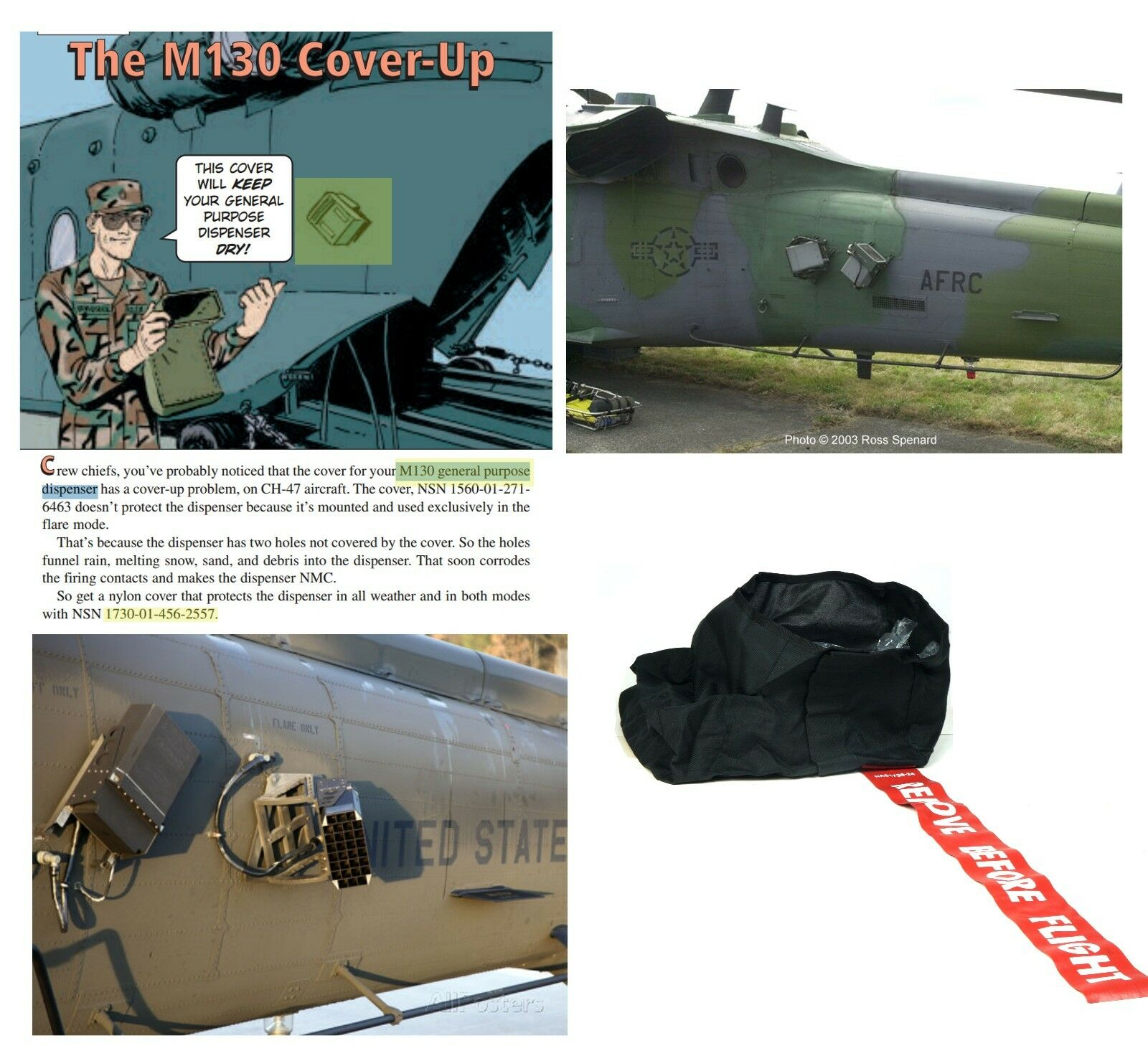 M130 Cover-up