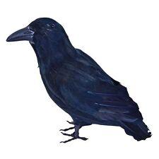 #ANIMAL BIRD PROP WITCH FAMILIAR RAVEN HALLOWEEN FANCY DRESS PARTY ACCESSORY