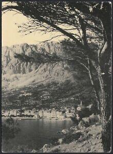 AB1267-Croatia-Makarska-Partial-view-Vintage-Postcard-Cartolina-postale