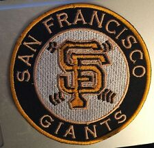 """SAN FRANCISCO SF GIANTS BASEBALL PATCH 3.5"""" IRON ON OR SEW ON"""
