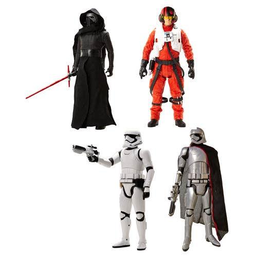 Star Wars große Figürchen 51 cm Kylo Ren Poe Dameron Stormtrooper Kapitän Phasma