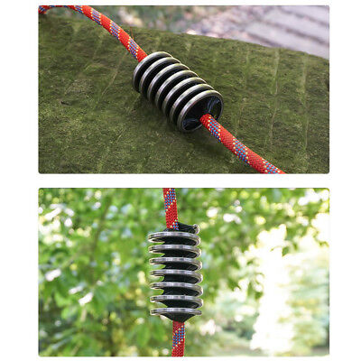 Spiral Rock Climbing Rope Cleaning Brush Outdoor Cleaner Tool for Arborist