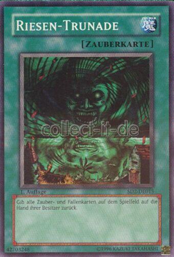 Yugioh SD2-DE015 Riesen-Trunade 1.Auflage