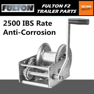 Details about Fulton F2 Boat Trailer Brake Winch 1130kg Load Capacity  15 8:1 Ratio 143201