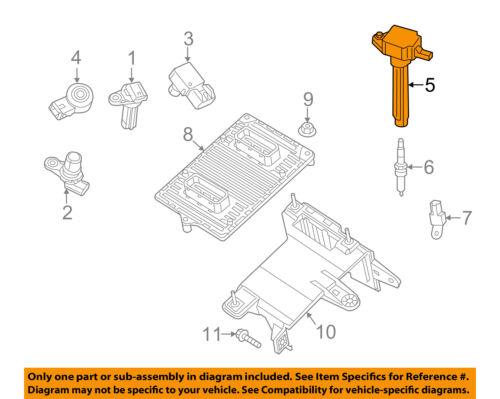 Dodge CHRYSLER OEM 13-16 Dart-Ignition Coil 55000827AB