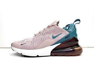 Nike-Da-Donna-Air-Max-270-Scarpe-da-ginnastica-Scarpe-Rosa-Color-Foglia-Di-Te-UK-4-5-EU-38-US-7