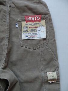 Levi-039-s-Cord-Latzhose-Latz-Jeans-Gr-XS-NEU-Cordhose-Vintage-Overall-RAR