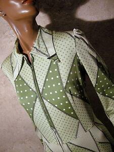 Dress Vintage 1970s Vtg Dress Abito Retro Dress 70s Chic 70s Mod 38 Mod Graphic HtH50