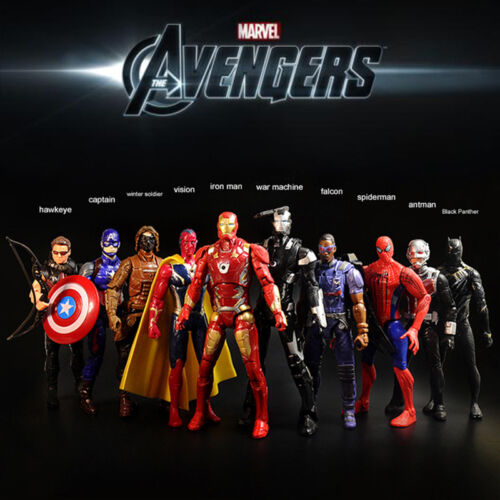 Avengers Ironman Captain Hawkeye Vision Falcon Winter Soldier Ant Action Figure