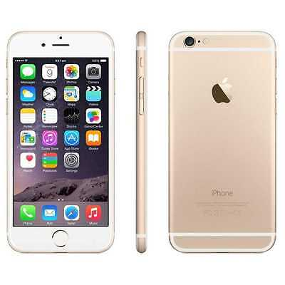 Apple iPhone 6 16GB - 4G LTE Smartphone (AT&T H20 Cricket Net-10 + More) in Gold