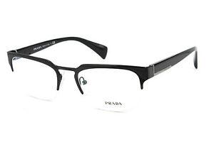 4a087e5b82bdba Prada Brille Fassung Glasses VPR66Q 7AX-1O1 Gr 52 Konkursaufkauf BP ...