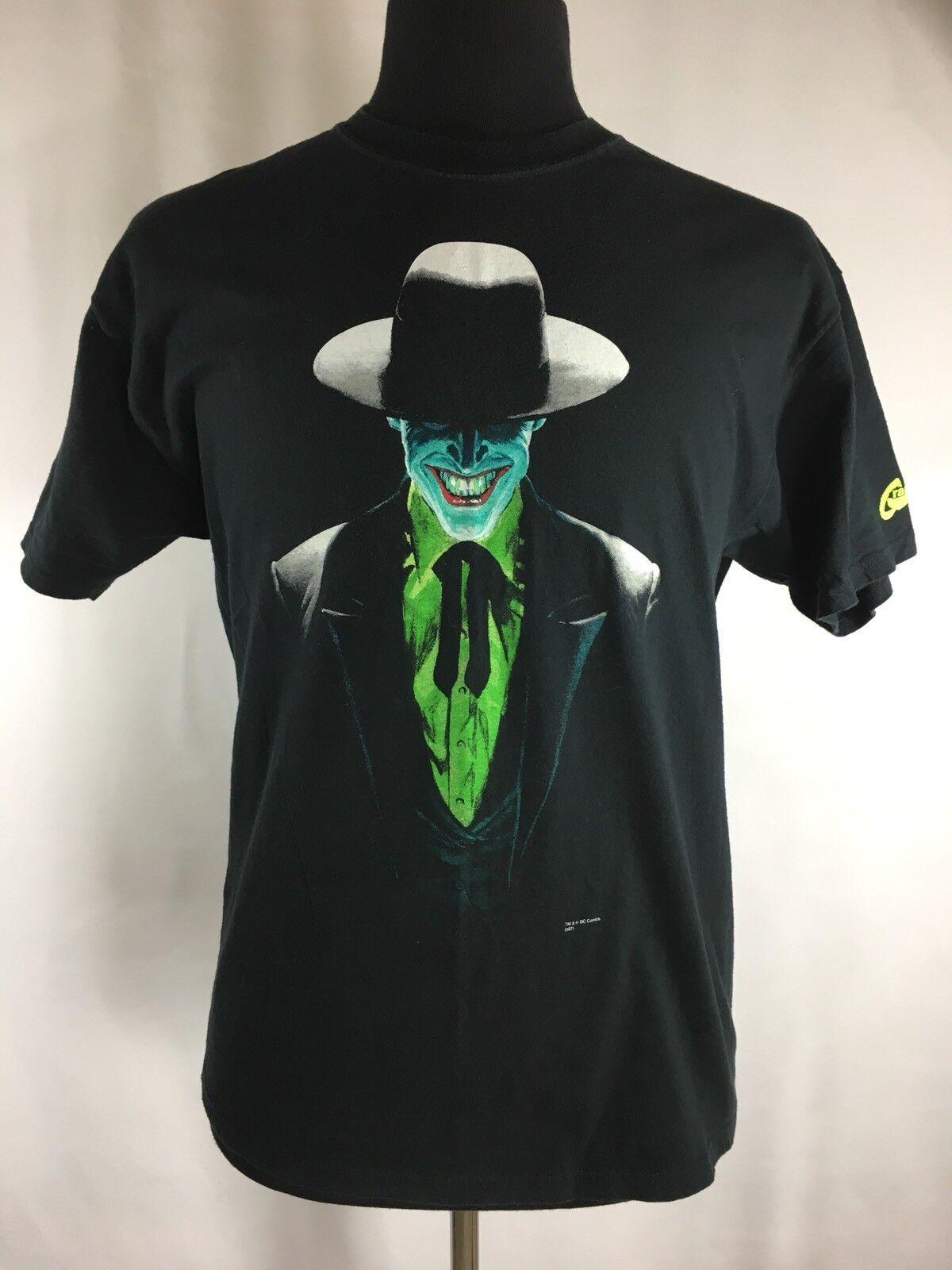 Vintage Joker Men's Large Shirt Batman DC Comics