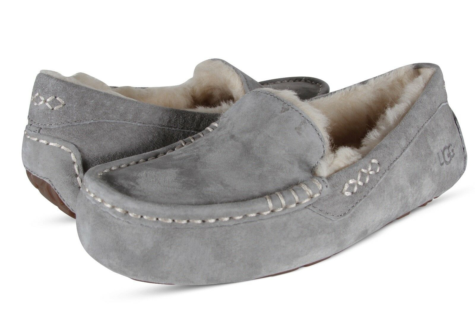 7e7934f85f1 UGG Women's Ansley Moccasin Light Grey,10 B(M) US